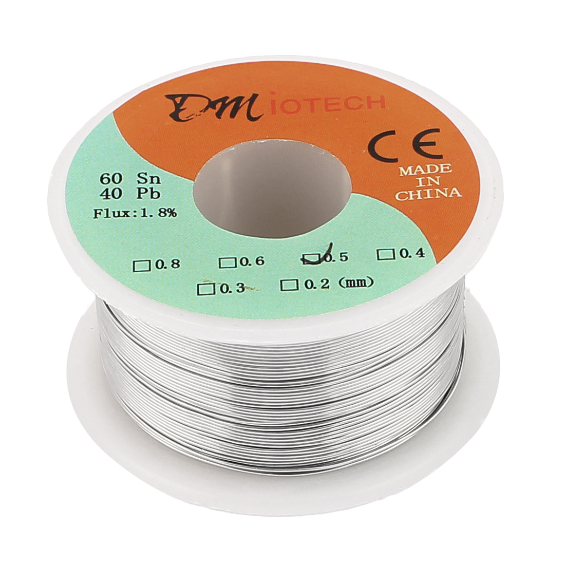 0.5mm Rosin Core Solder Tin Lead Solder Wire 60/40 for Electrical Soldering 100g