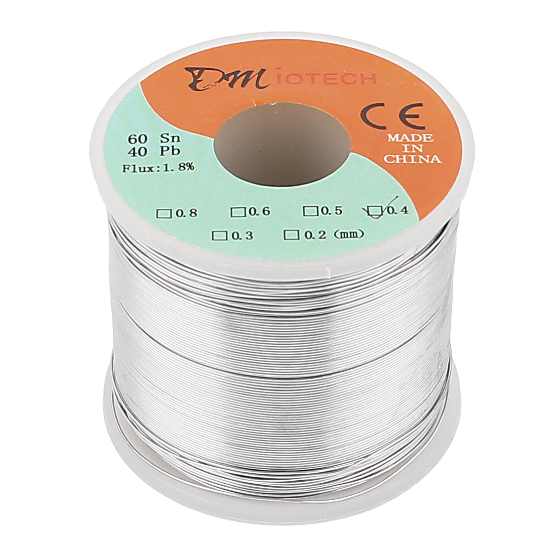0.4mm Rosin Core Solder Tin Lead Solder Wire 60/40 for Electrical Soldering 400g