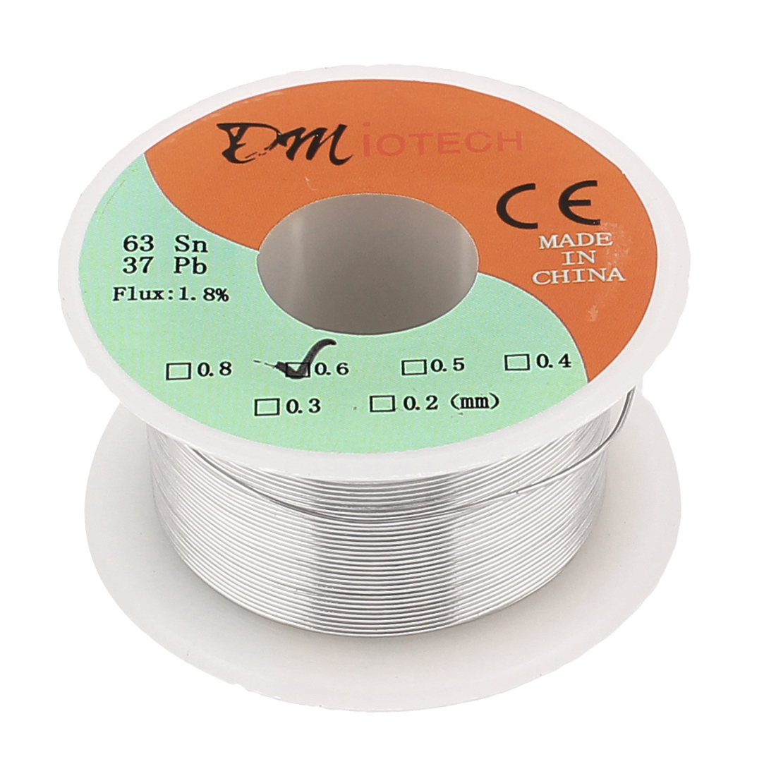 0.6mm Rosin Core Solder Tin Lead Solder Wire 63/37 for Electrical Soldering 35g