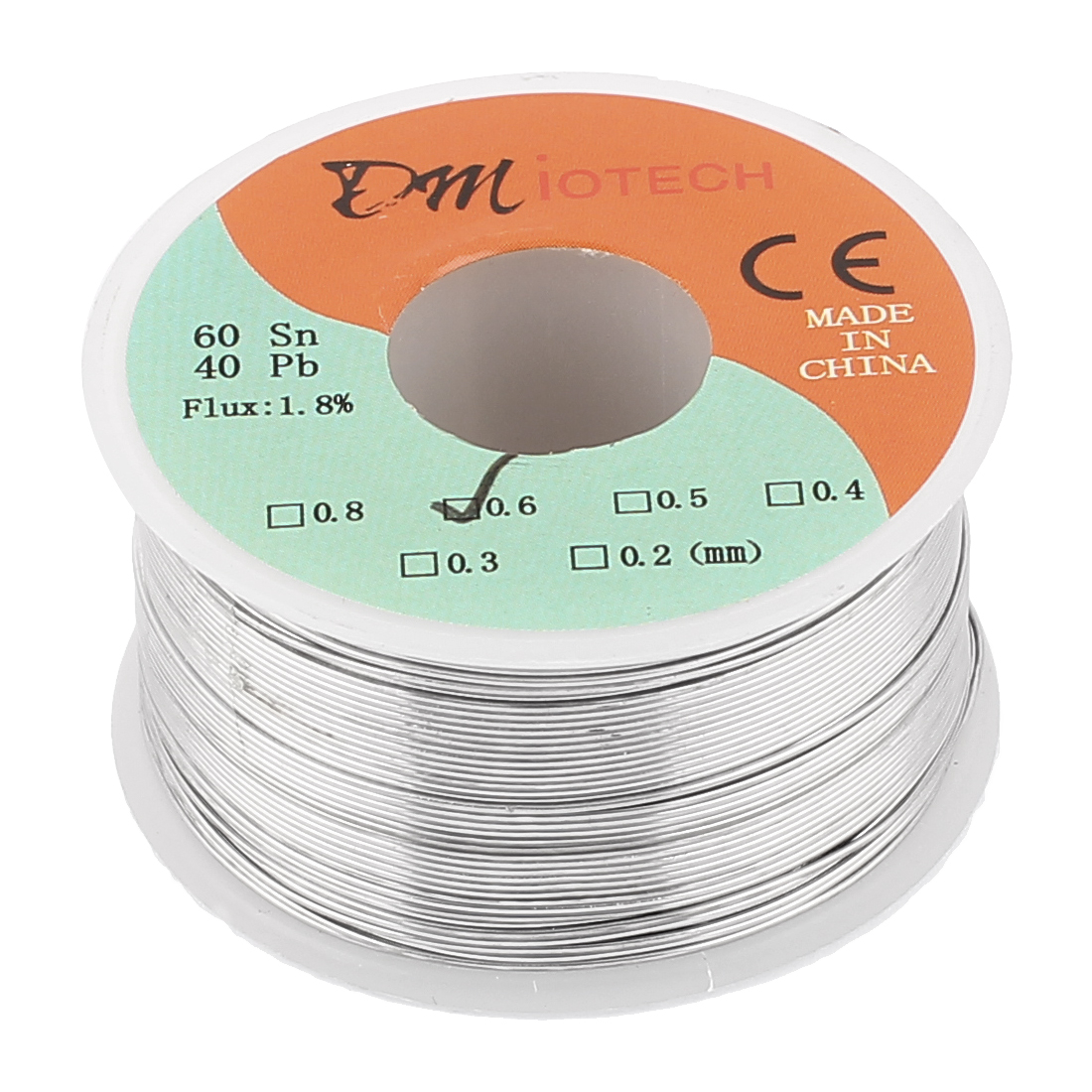 0.6mm 150G 60/40 Rosin Core Tin Lead Roll Soldering Solder Wire
