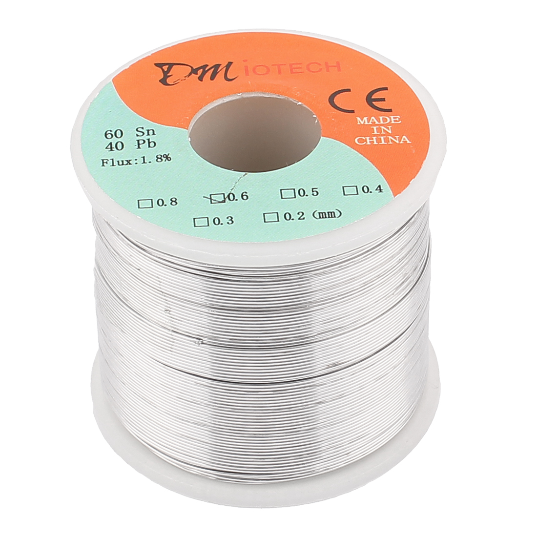 0.6mm 400G 60/40 Rosin Core Tin Lead Roll Soldering Solder Wire