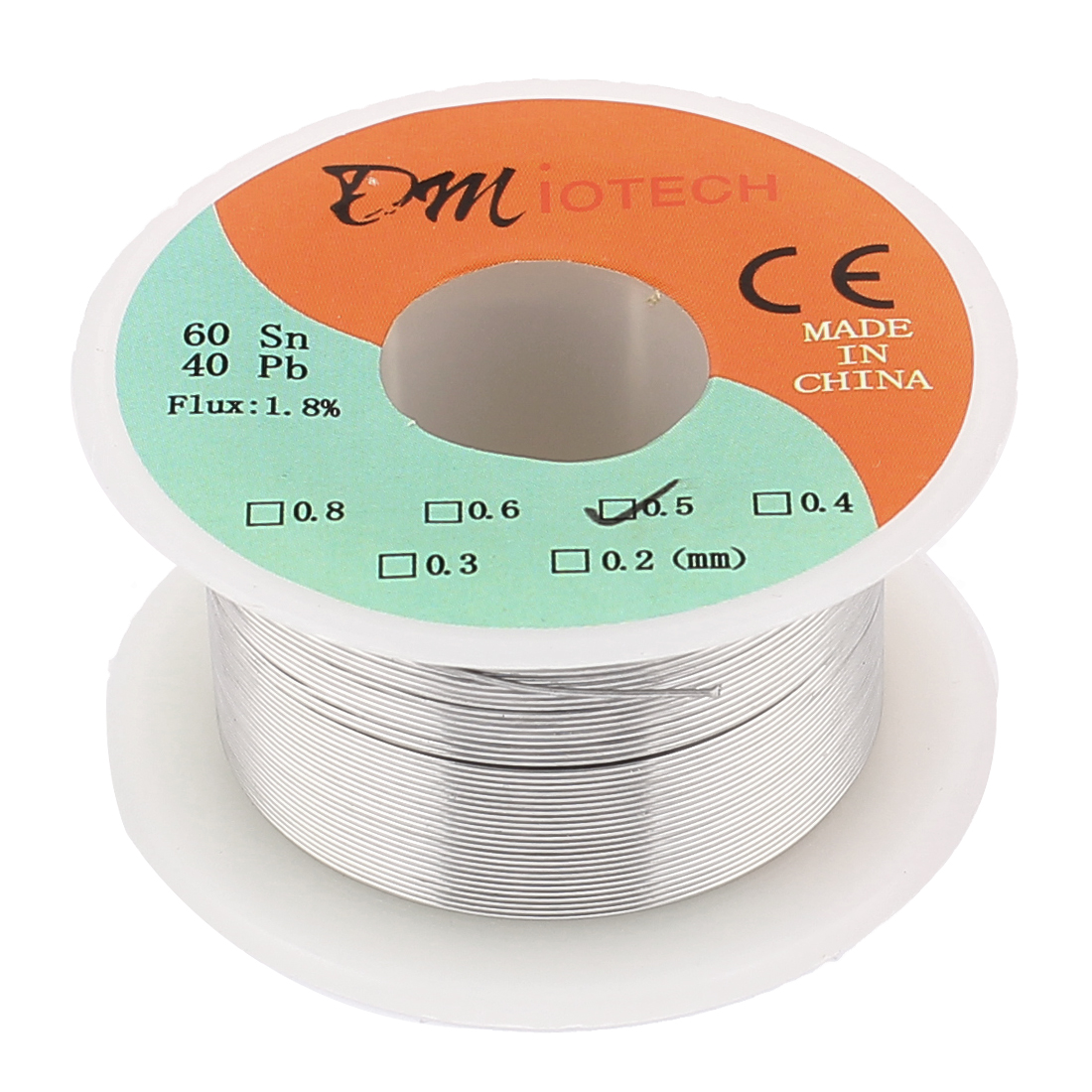 0.5mm 35G 60/40 Rosin Core Tin Lead Roll Soldering Solder Wire