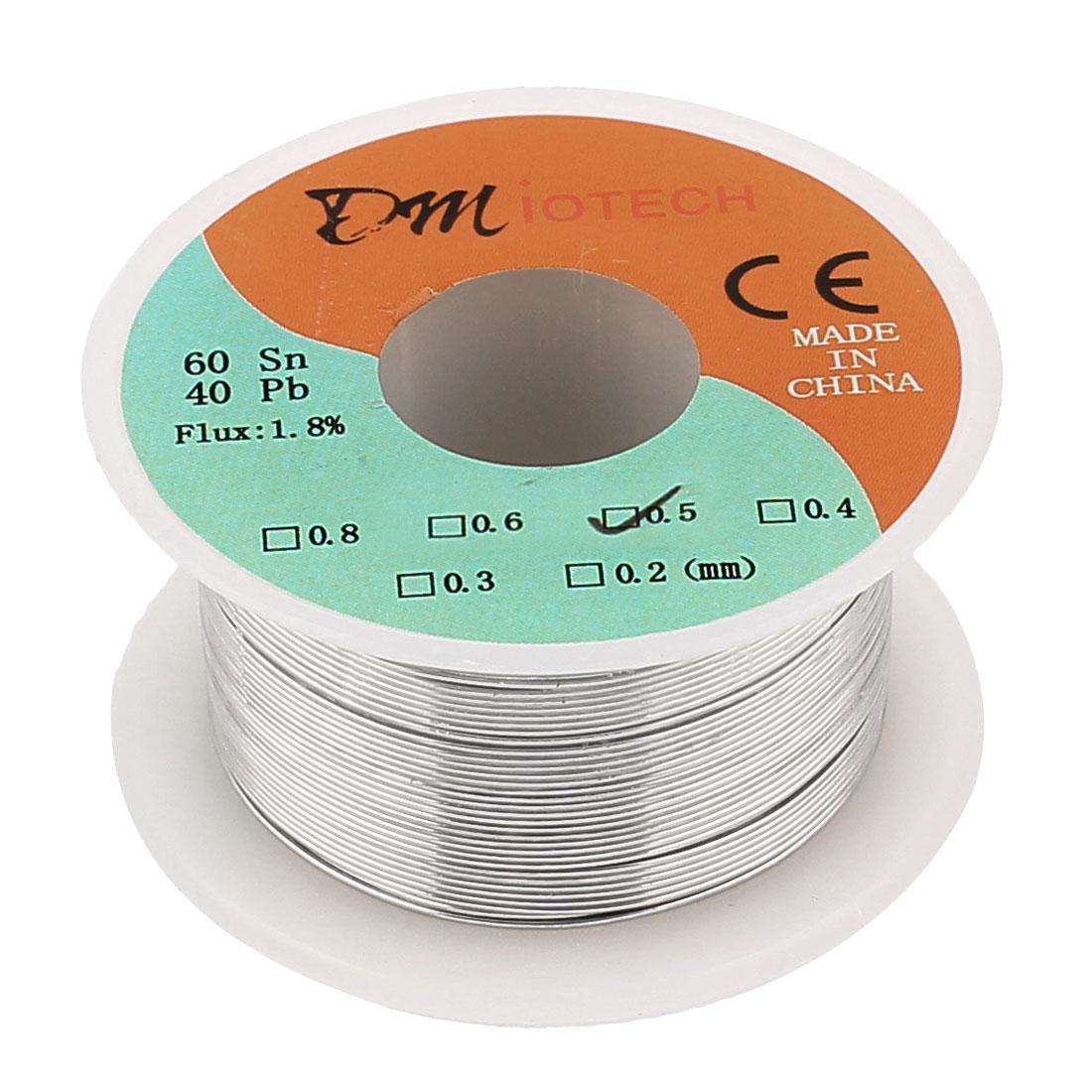 0.5mm 50G 60/40 Rosin Core Tin Lead Roll Soldering Solder Wire