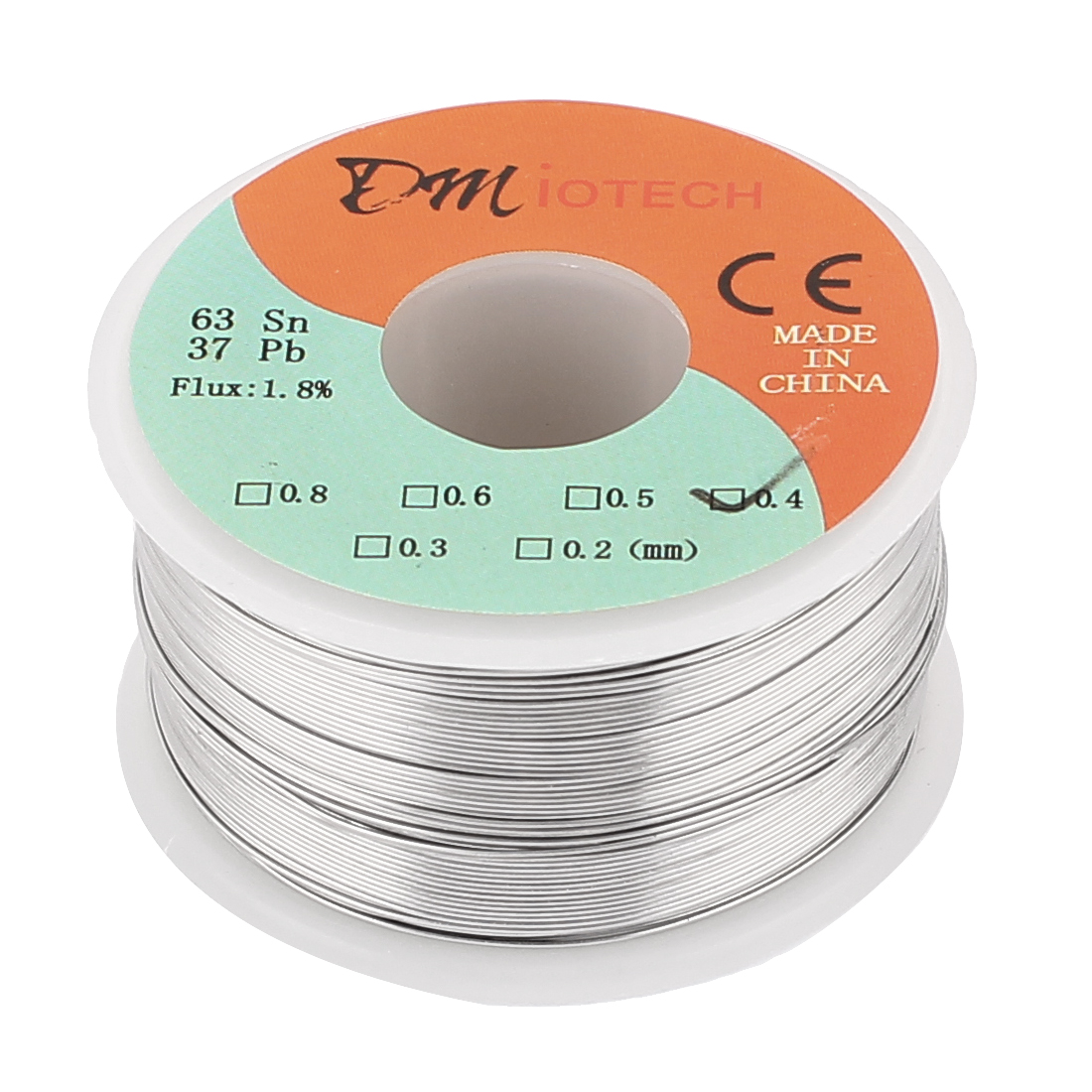 0.4mm Rosin Core Solder Tin Lead Solder Wire 63/37 for Electrical Soldering 150g