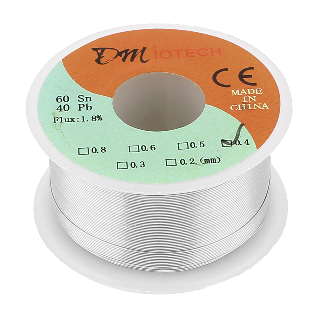 0.4mm Rosin Core Solder Tin Lead Solder Wire 60/40 for Electrical Soldering 100g