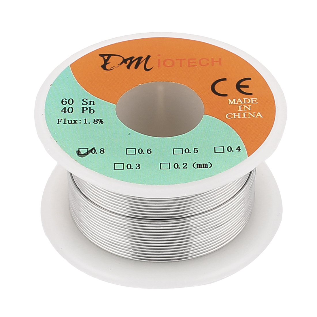 0.8mm Rosin Core Solder Tin Lead Solder Wire 60/40 for Electrical Soldering 35g