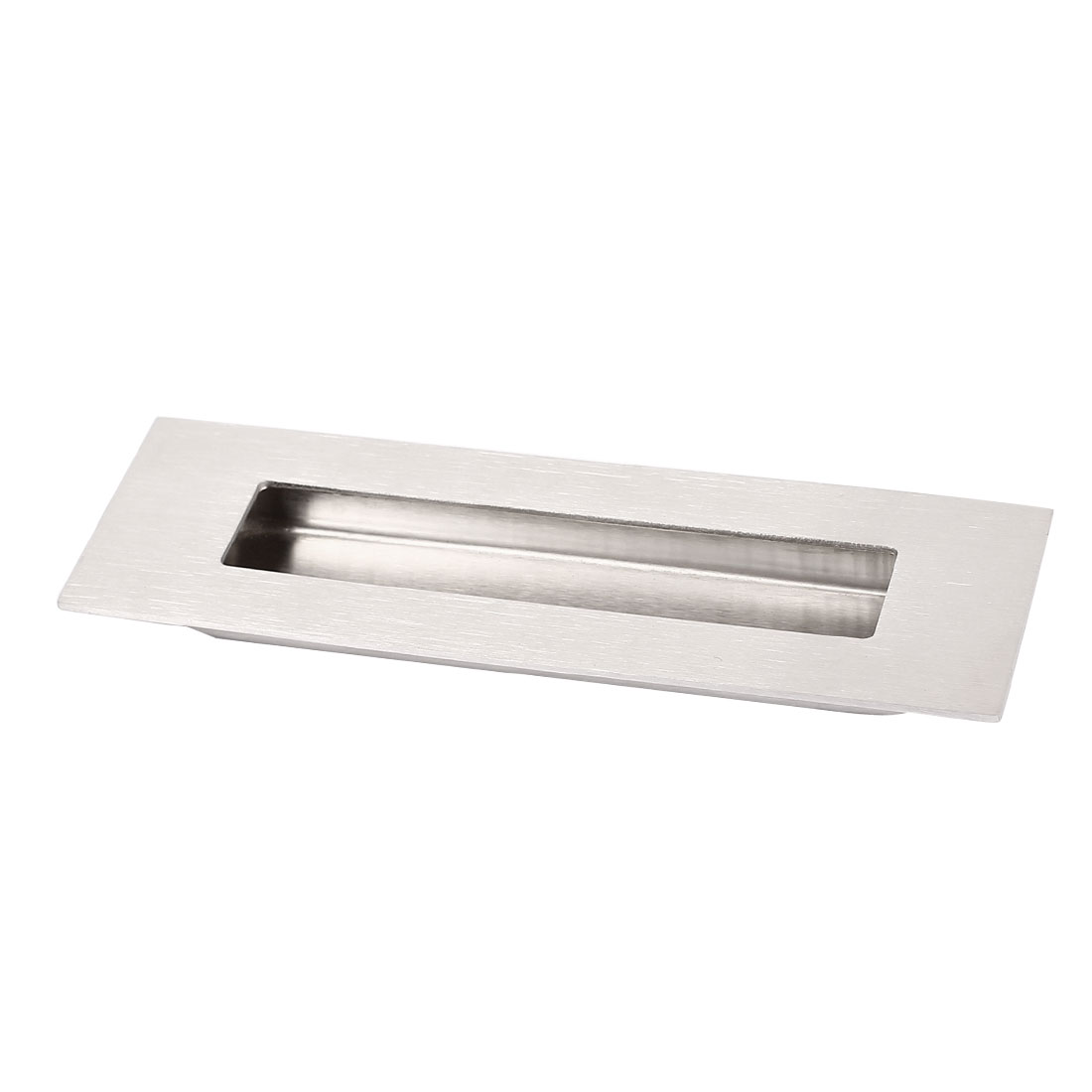 150mmx50mm Polished Stainless Steel Rectangular Flush Recessed Pull Door Handle