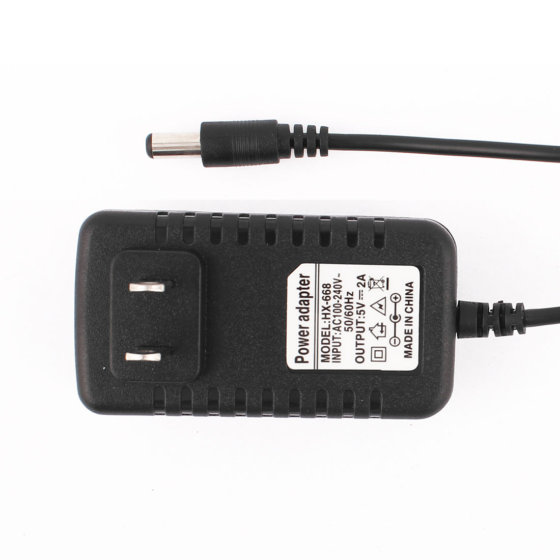 US Plug AC 100-240V to DC 5V 2A 2.1 x 5.5mm Power Supply Adapter Converter Wall Charger