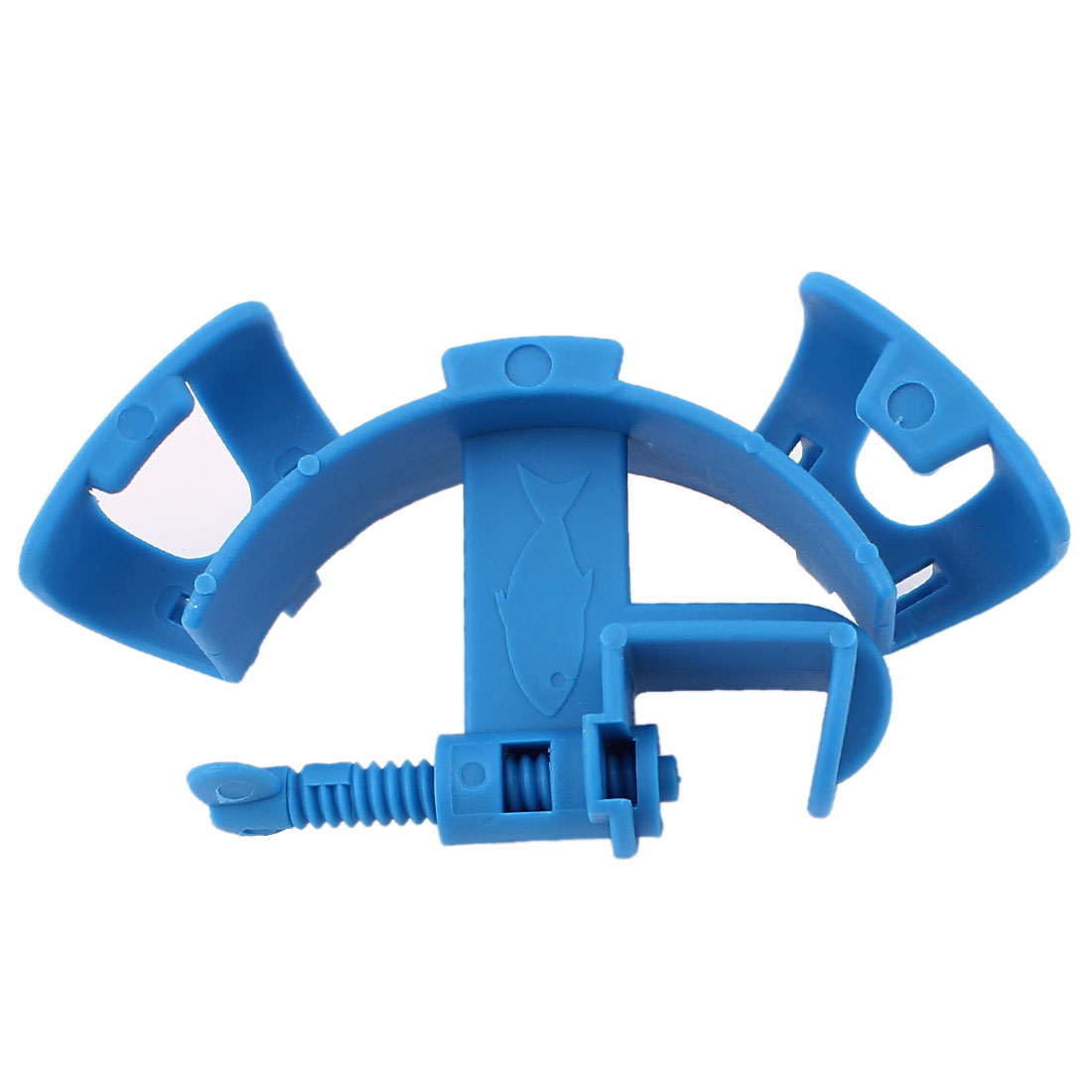 Fish Tank Aquarium Filtration Water Pipe Filter Hose Holder Blue