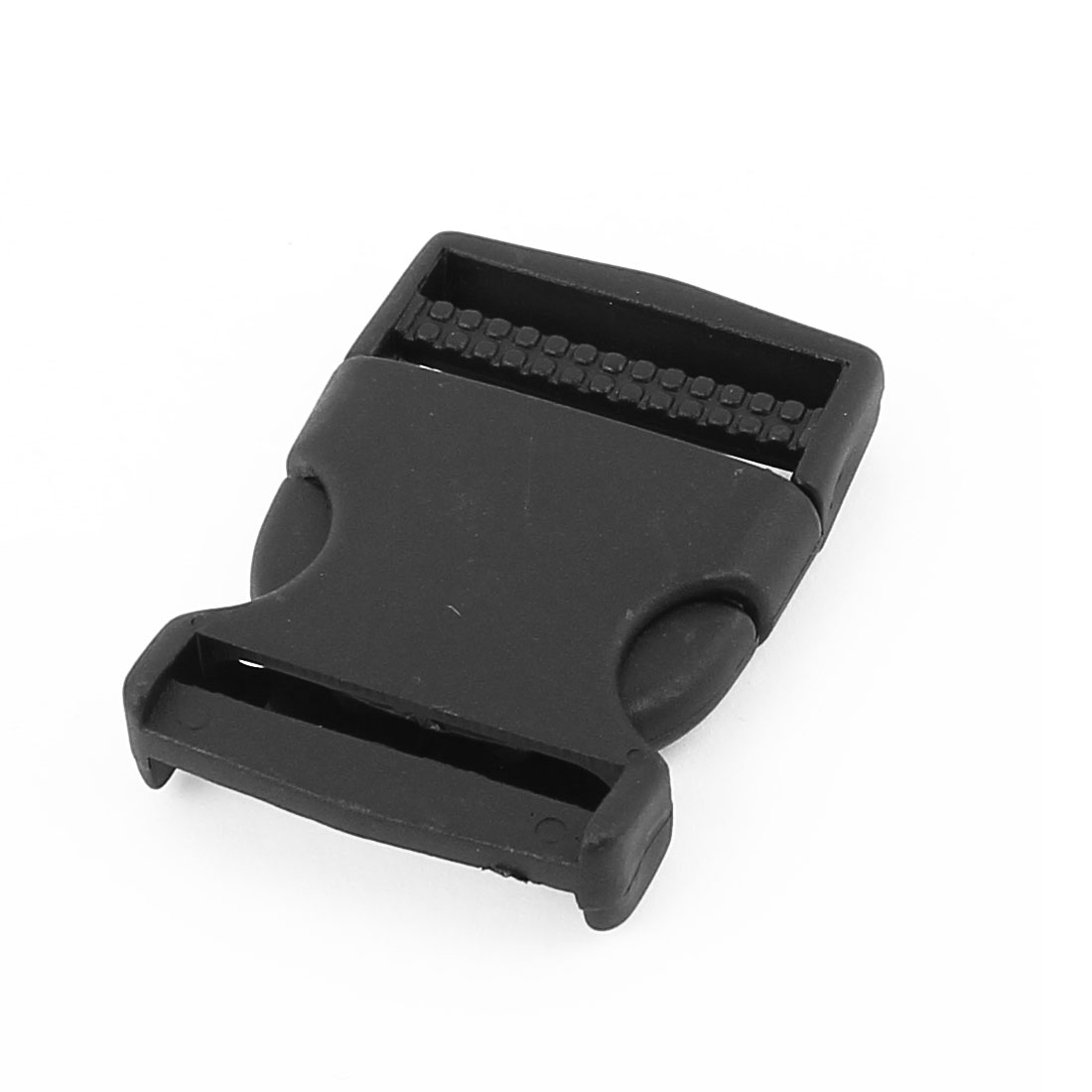 Belt Connecting Plastic Quick Safety Release Buckle 6.5 x 4.5cm Black