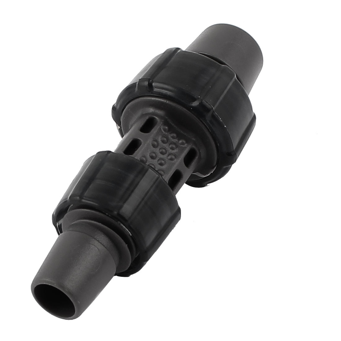 Garden Plant Watering 12mm 16mm Pipe Tube Hose Adapter Connector Black