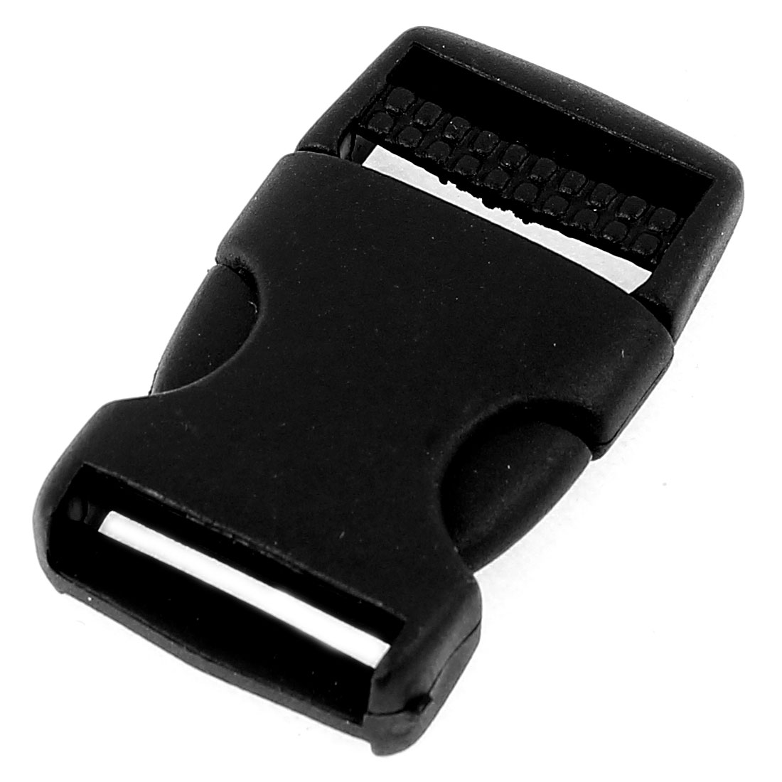 Black Plastic Quick Safe Release Buckle for 2.5cm Width Belt