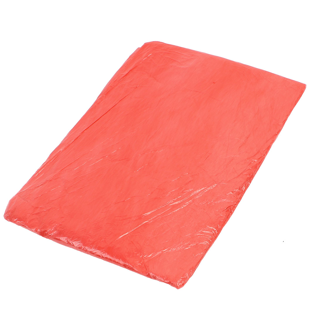 10 Pcs 2.2M x 2.2M Disposable Film Table Cloth Cover Extend Decor Red