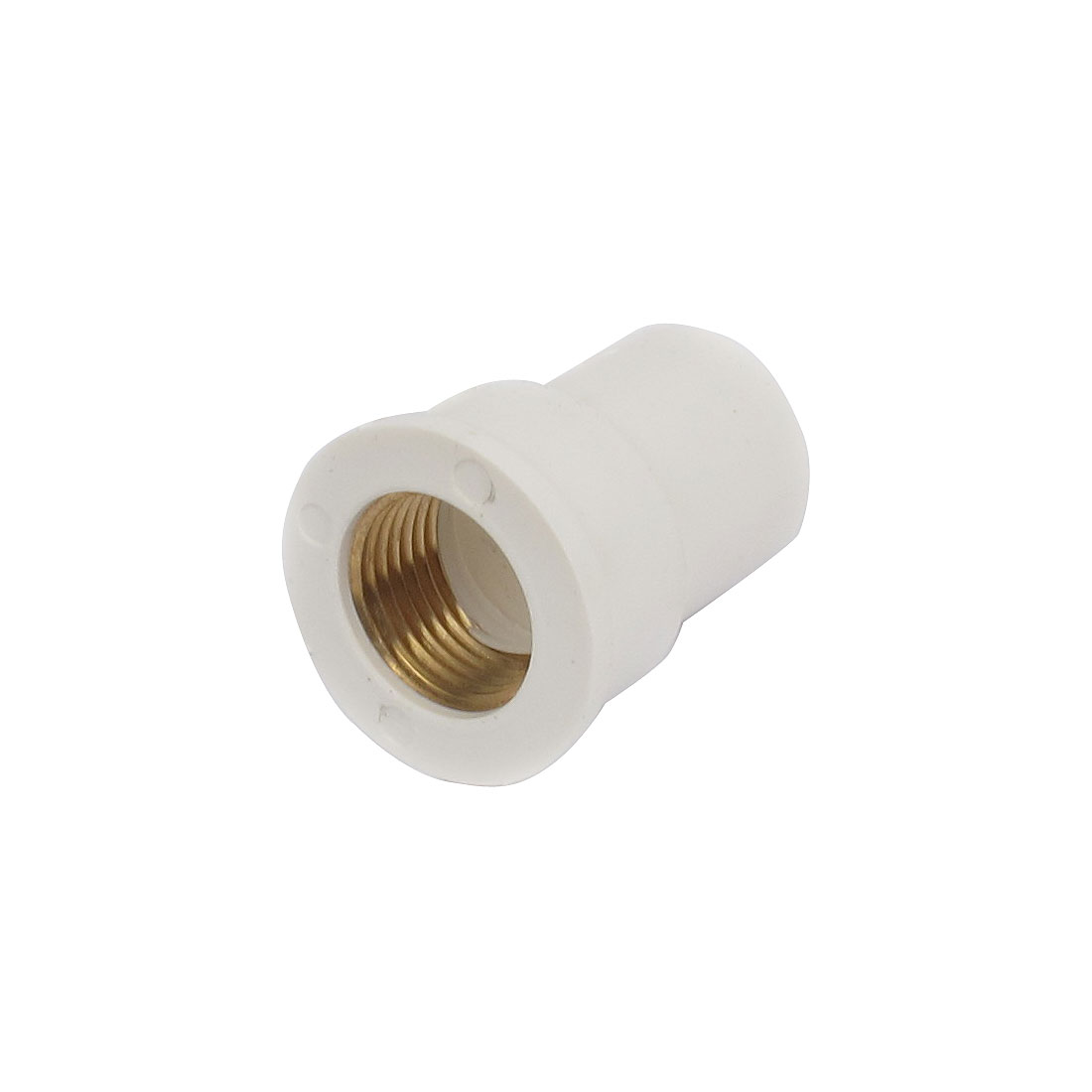 19mm 1/2BSP Male Thread PVC Straight Pipe Fitting Coupler Connector