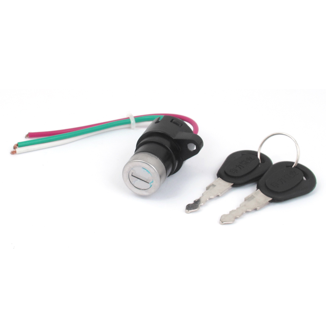 Ignition Start 3-Wire Motorcycle Motorbike Electric Key Switch Lock
