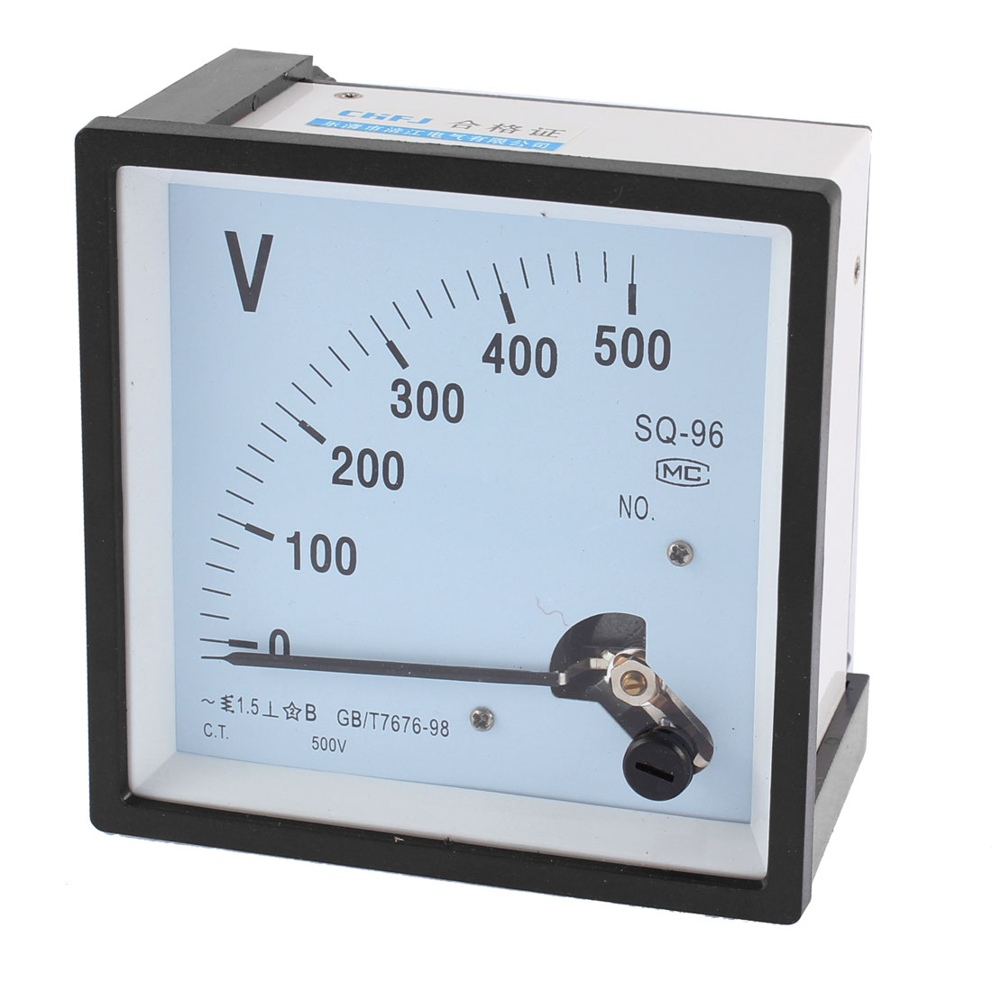 AC 0-500V Class 1.5 Accuracy Rectangle Analog Panel Volt Meter Voltmeter Gauge