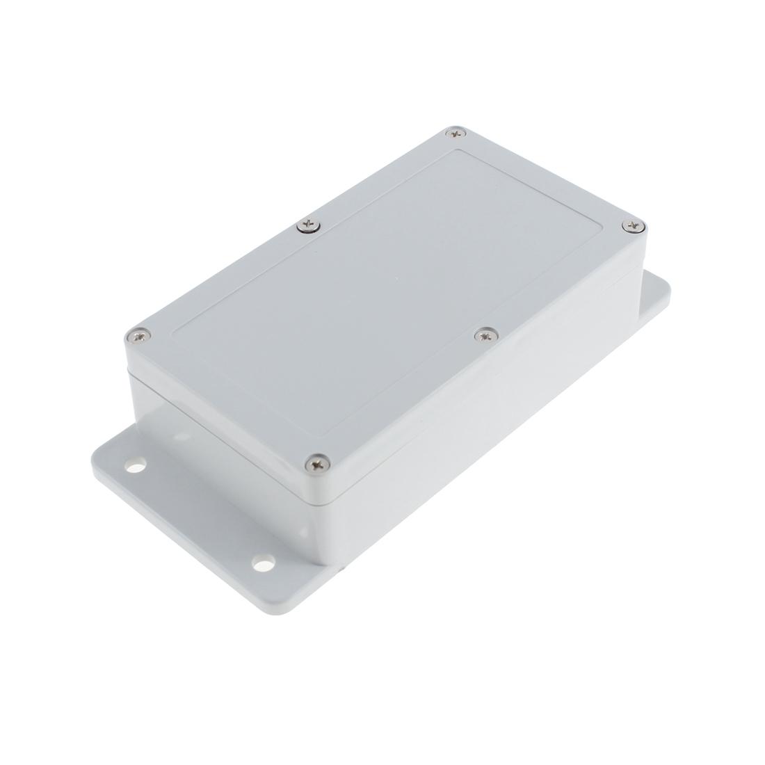 Splash Proof Gray Plastic Project Junction Box Case