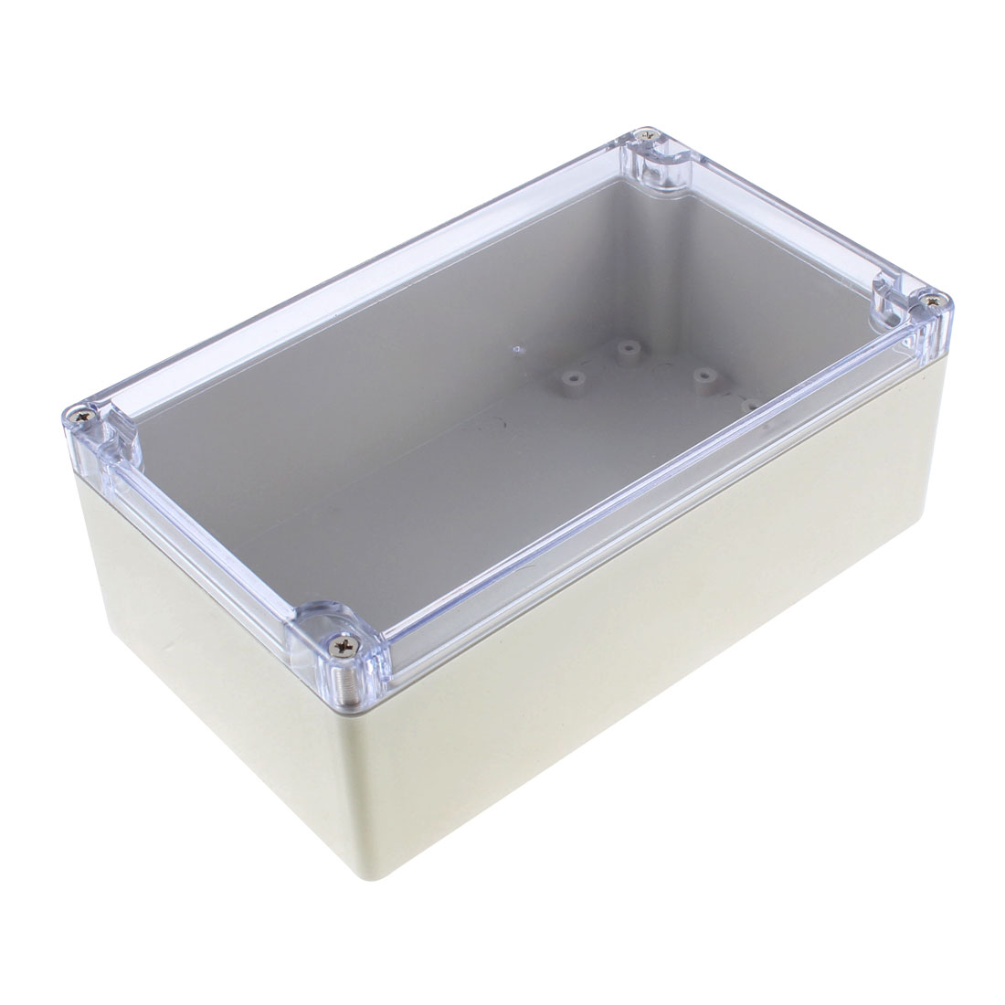 Water Resistant Clear Cover Plastic Project Junction Box