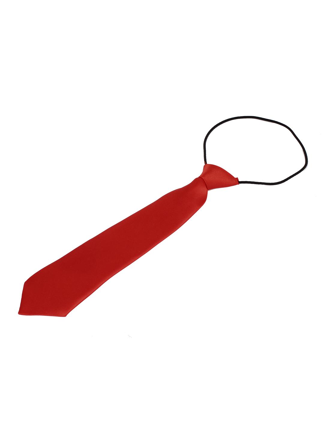 Kids Children Party Wedding Clothes Decor Elastic Belt Necktie Red