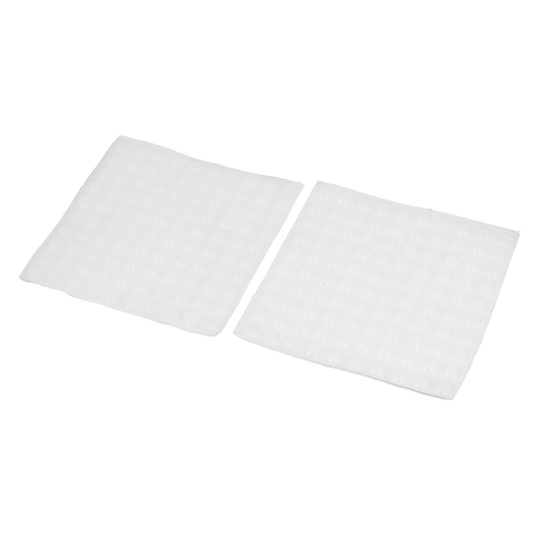 8mm Dia Self-adhesive Kitchen Cabinet Furniture Home Door Pad Protection 200Pcs