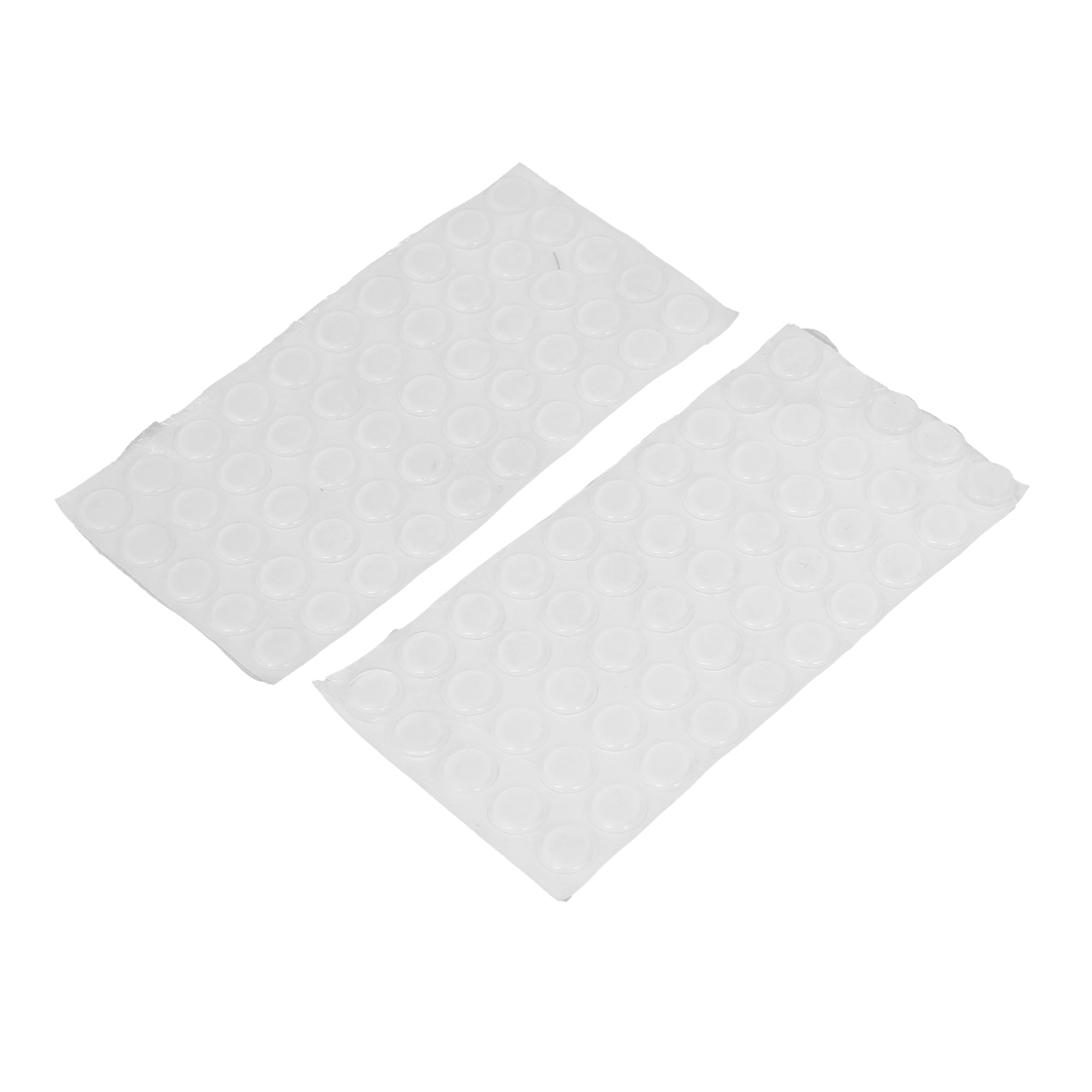 10mm Dia Self-adhesive Kitchen Cabinet Furniture Home Door Pad Protection 100Pcs