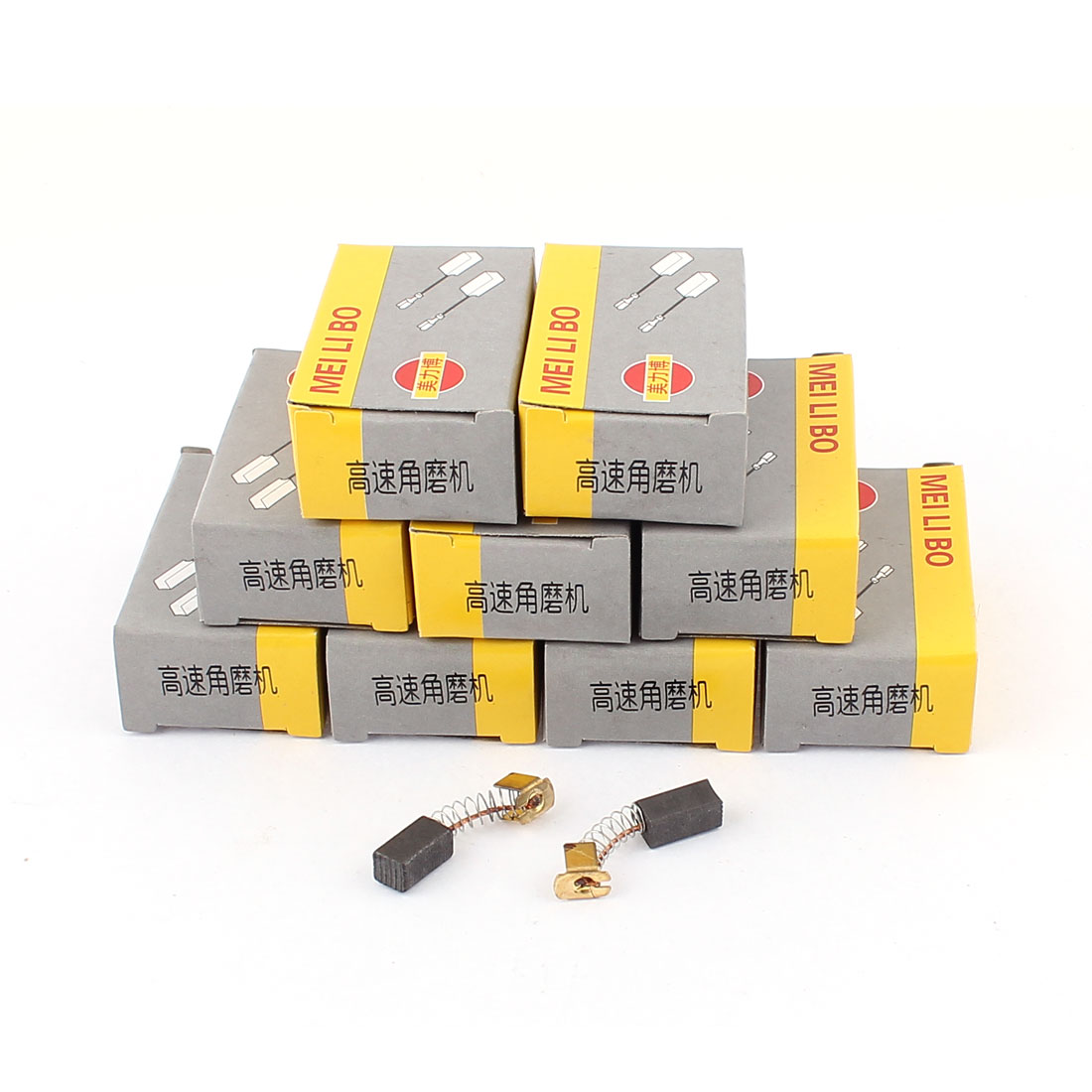 6mm x 6.5mm x 12mm Universal Power Tool Electric Drill Motor Carbon Brush 20 Pcs