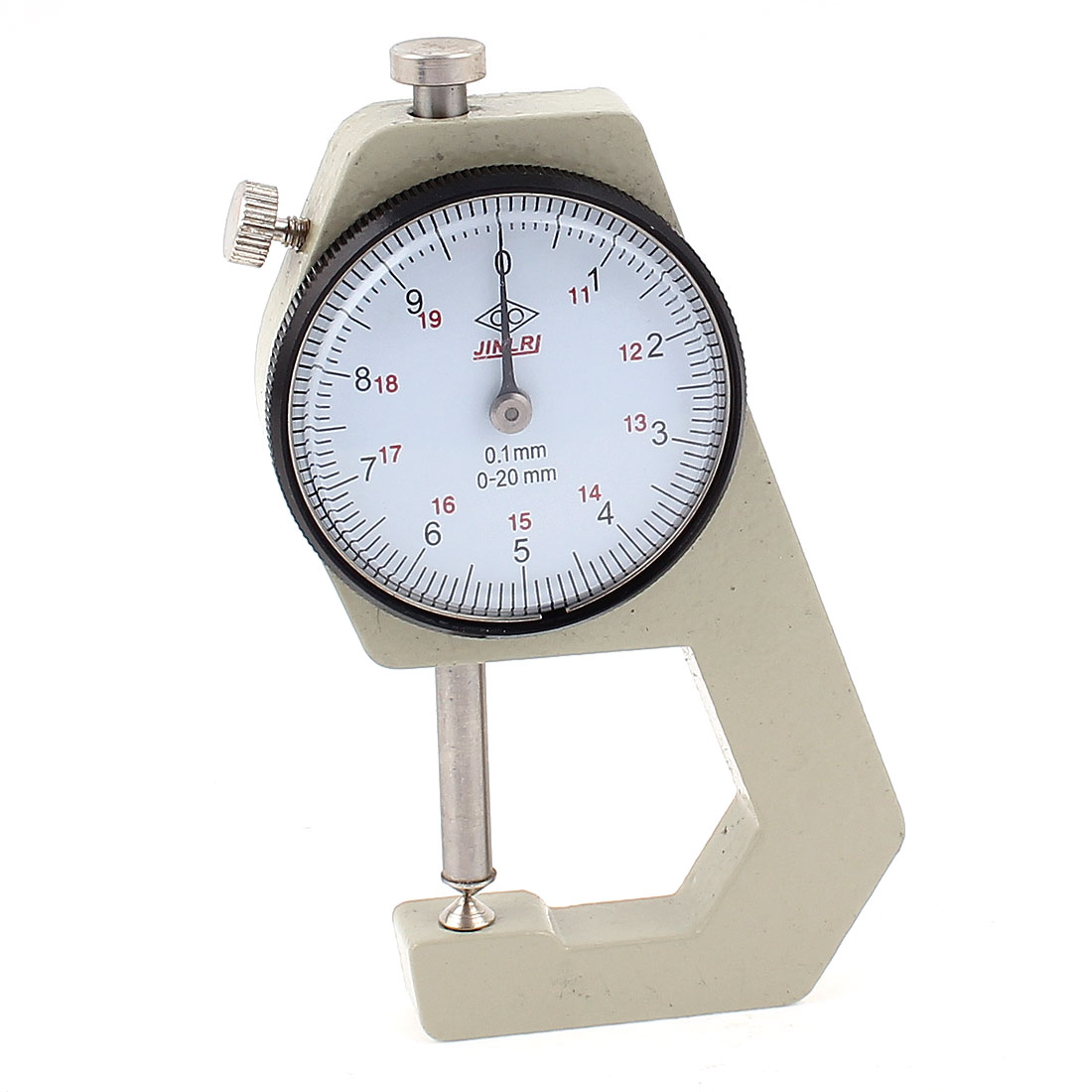0 to 20mm Dial Indicator Pocket Thickness Gauge Scale Meter Measure Tool