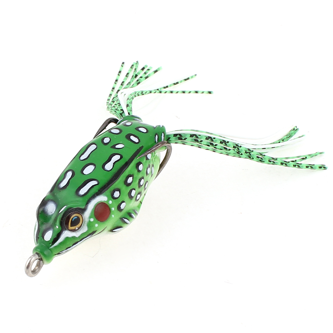 Saltwater Colorful Luminous Soft Silicone Frog Fishing Bait Tackle Lure