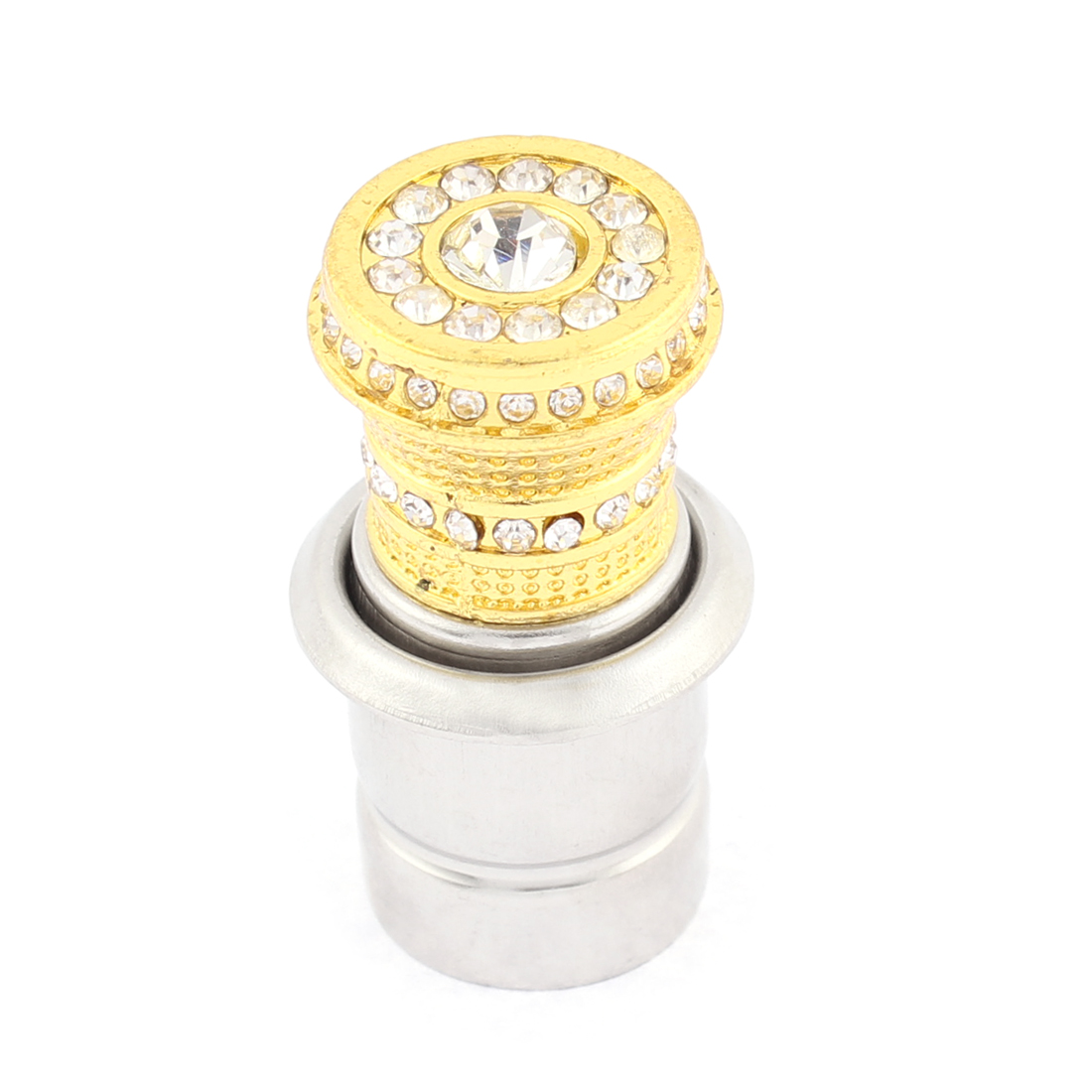 Auto Vehicle Crystal Rhinestones Car Power Socket Cigarette Lighter Ignition