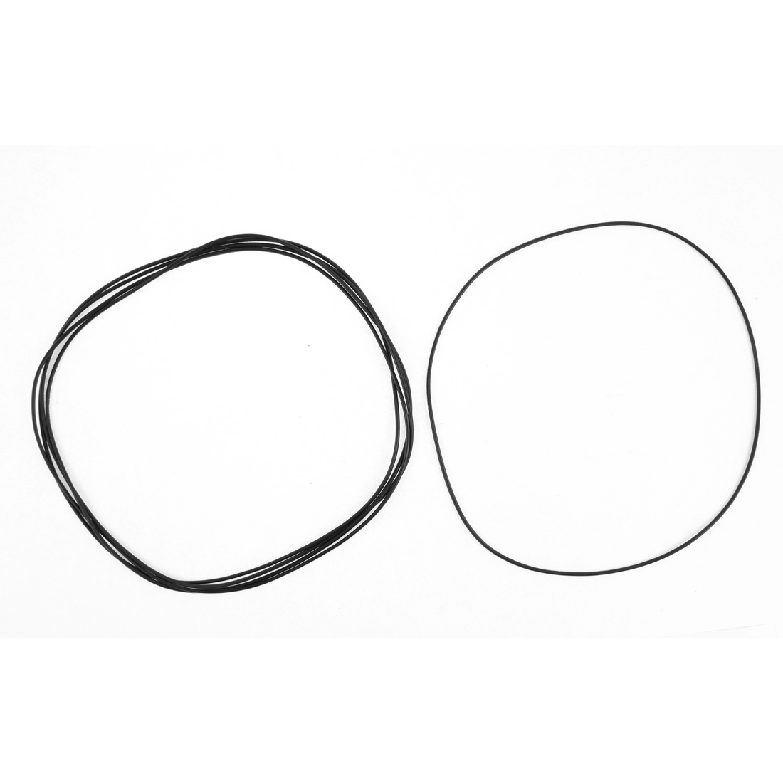 170mm External Diameter Rubber Oil Seal O Ring Gasket Black 5 Pcs