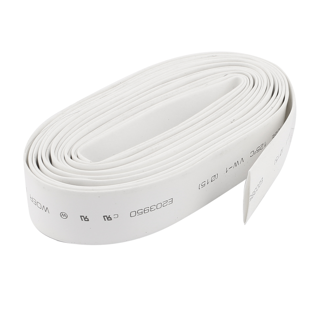 15mm Dia. 2:1 Polyolefin Heat Shrink Wire Wrap Tubing Tube Sleeving 4m 13ft Long