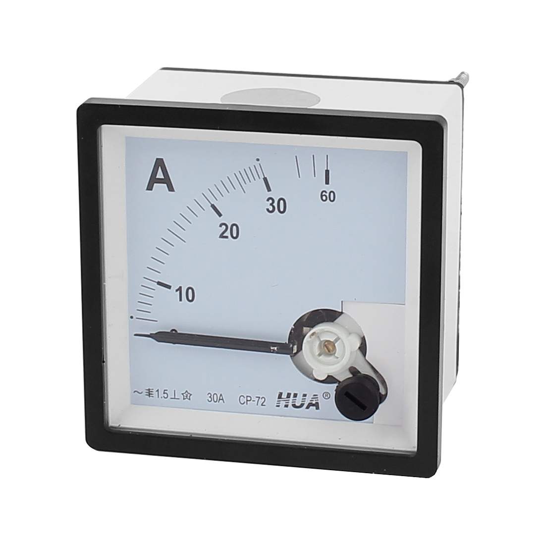 AC 30A Analog Current Panel Meter Ammeter Gauge CP-72