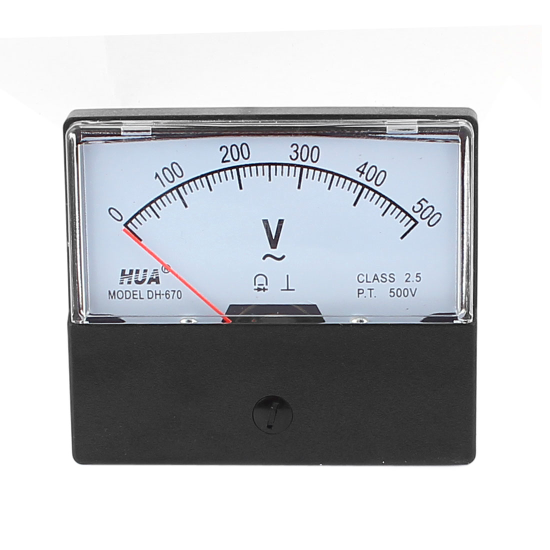 DH-670 AC 0-500V Analog Volt Voltage Needle Panel Meter Voltmeter