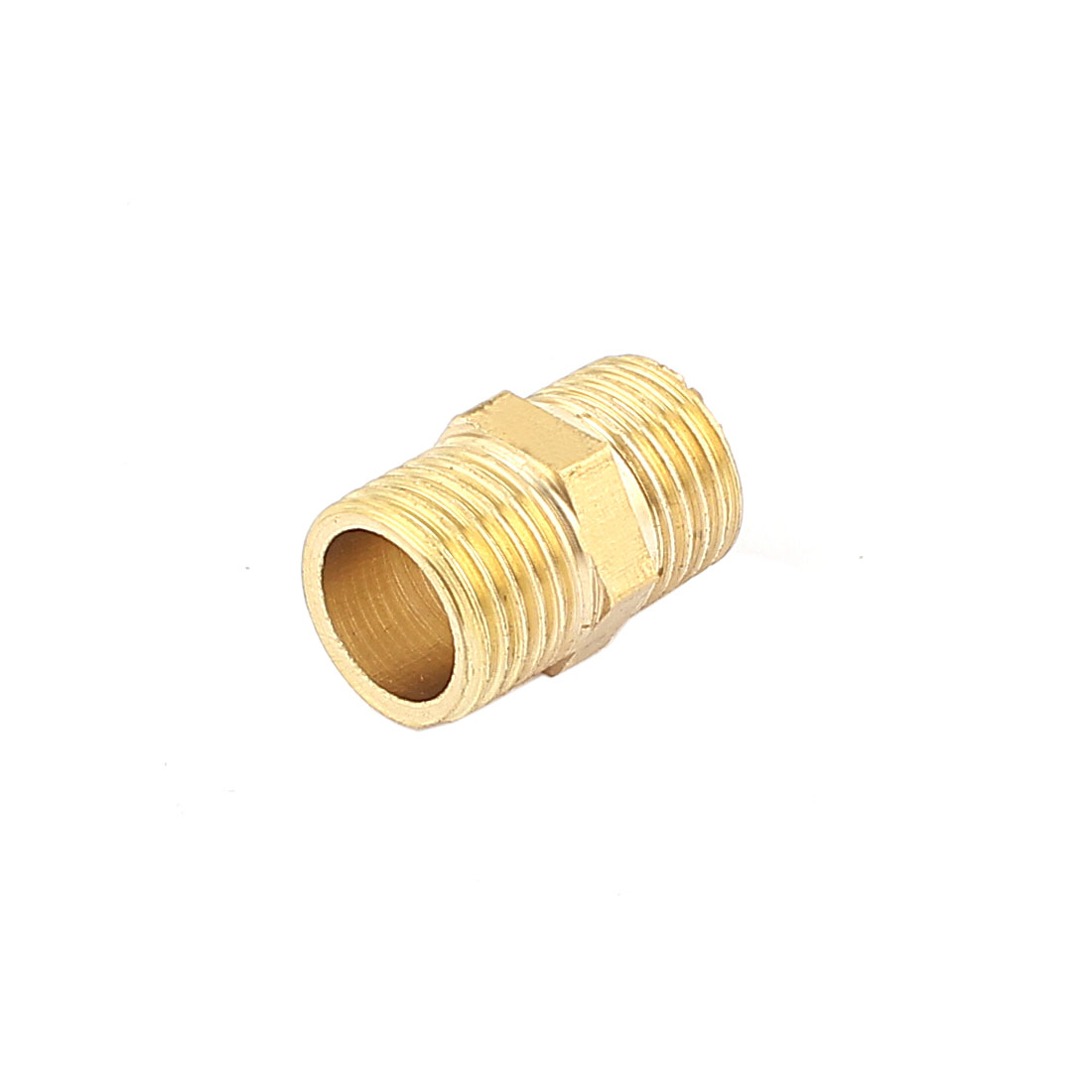 "21mm Length 1/4"" PT to 1/4"" PT Male Hex Nipple Reducing Connector Fitting"