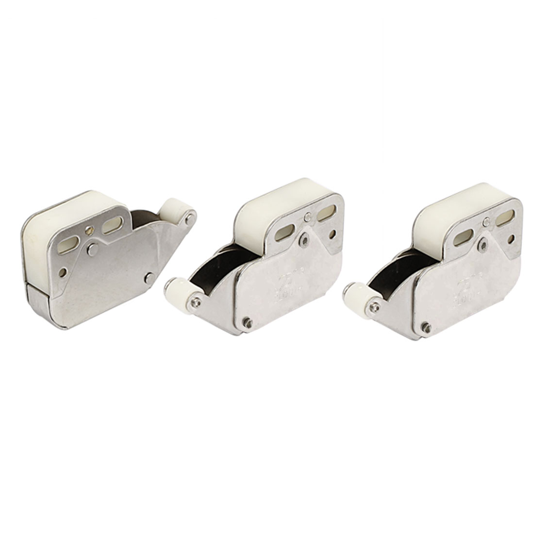 Push Open Touch Release Cupboard Door Catch 3Pcs