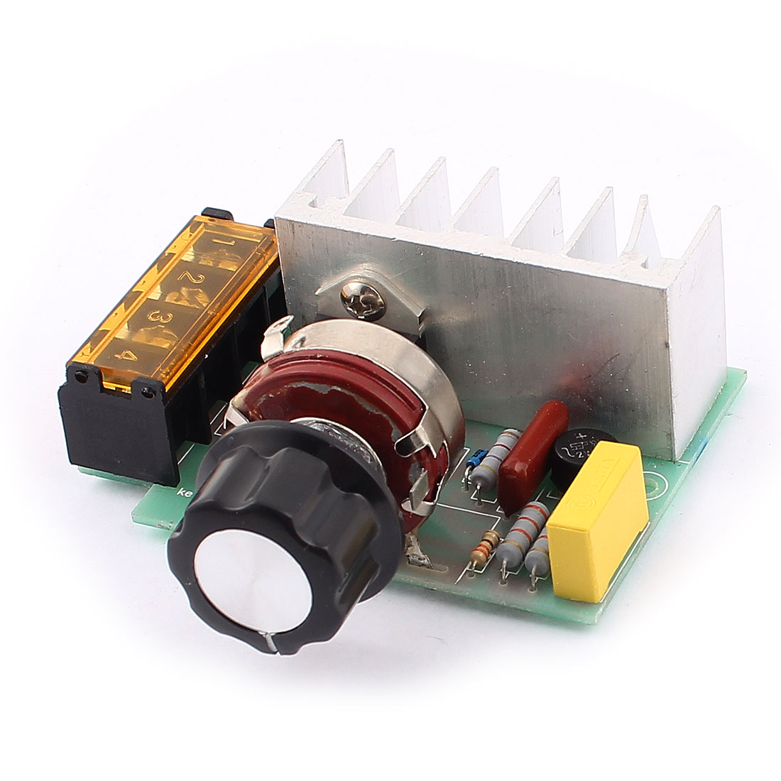 AC220V 4000W Potentiometer Control SCR Integrated Circuit Voltage Speed Dimmer Controller Thermostat Module