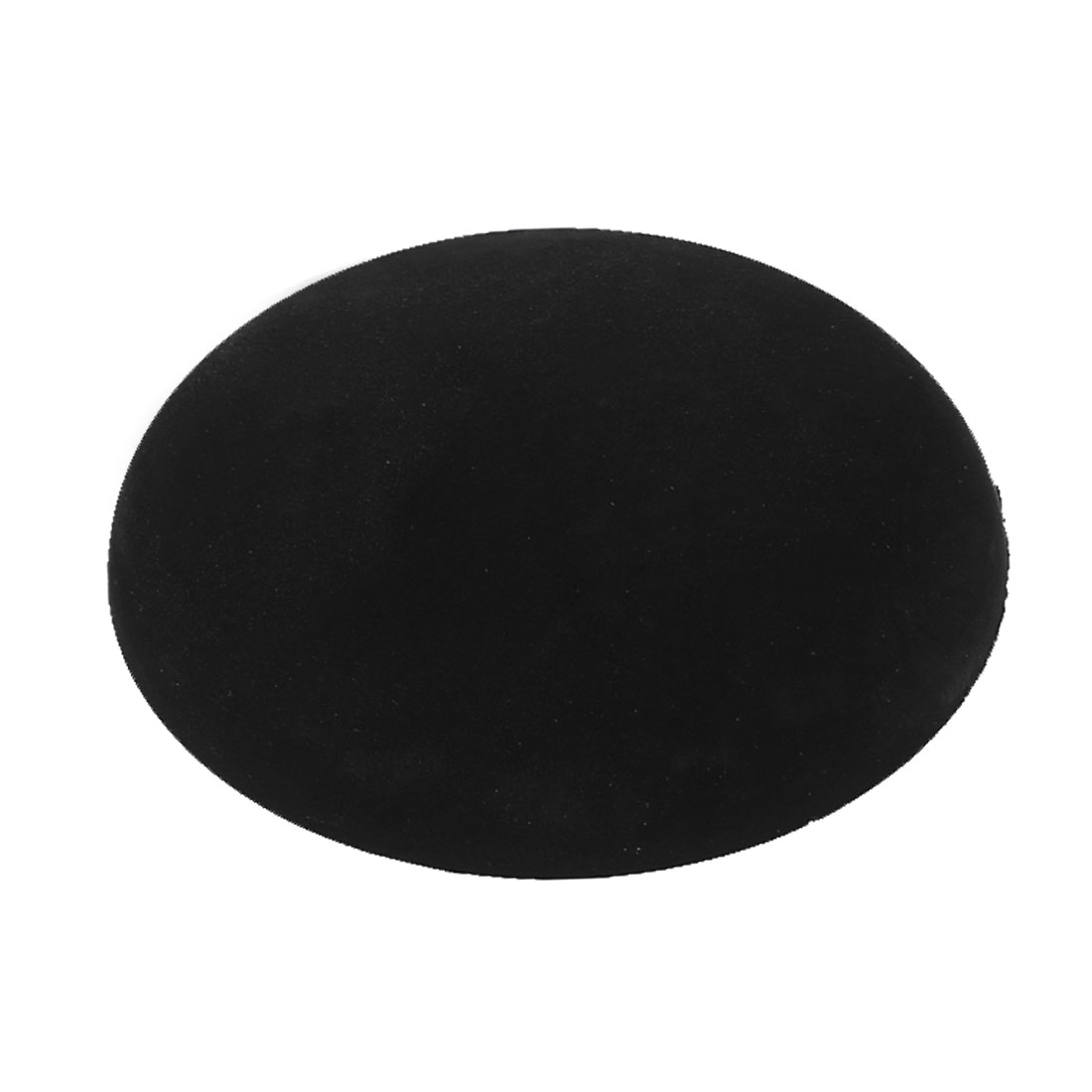 Black Rubber Adhesive Wall Guard Door Handle Bumper Stop Stopper Protector