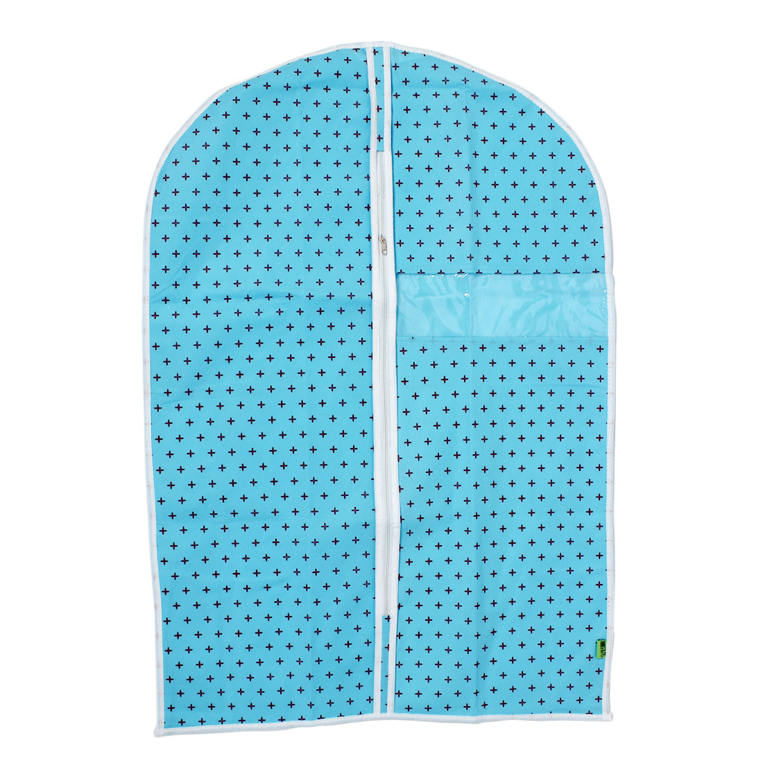 Wardrobe Hanging Clothing Garment Dust Cover Storage Organizer Bag Blue