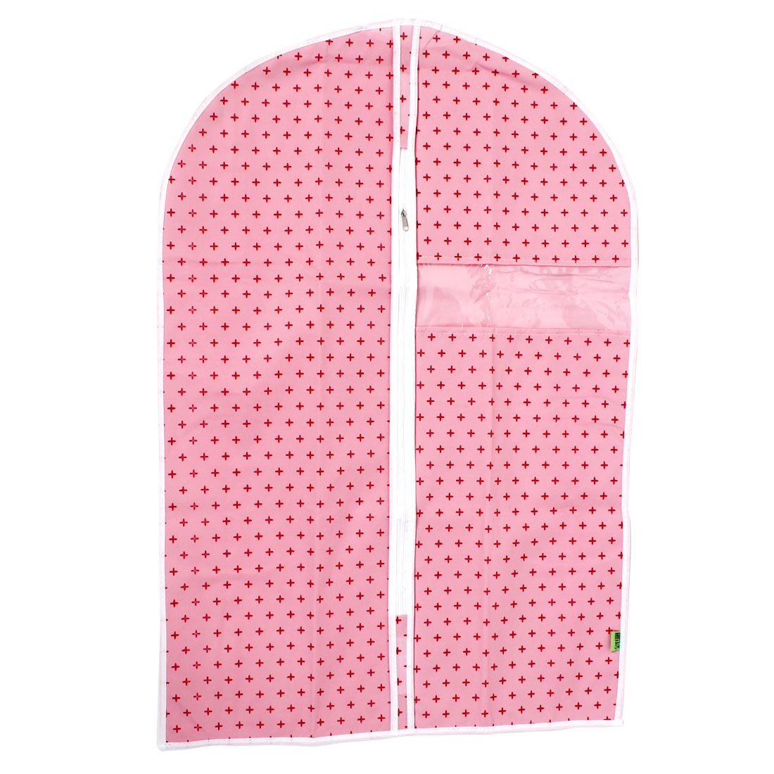 Wardrobe Hanging Clothing Garment Dust Cover Storage Organizer Bag Pink