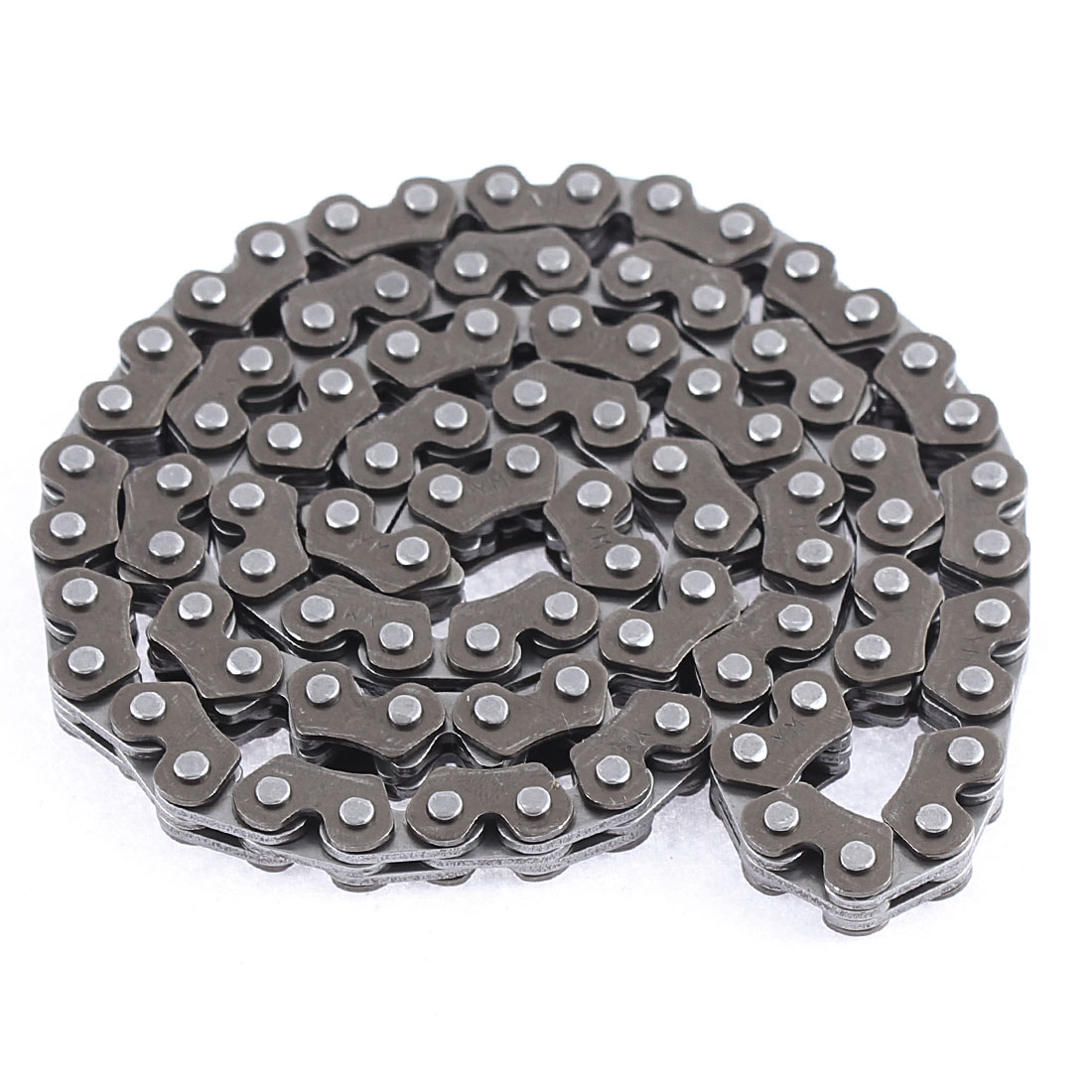 Motorcycle Engine 59cm Girth 90 Link M Style Camshaft Timing Chain Dark Gray
