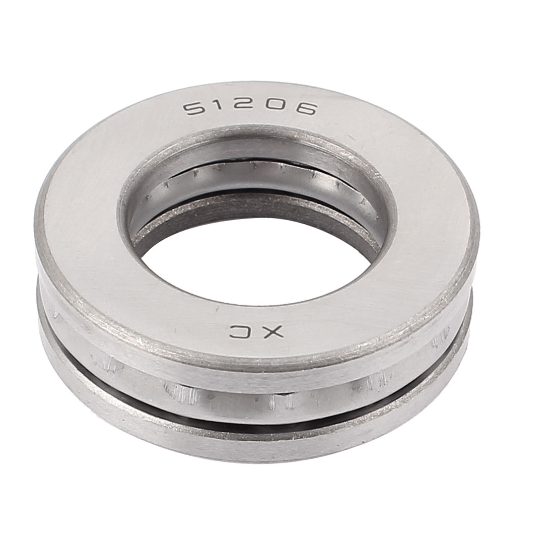 51206 Carbon Steel Axial Thrust Ball Bearing 30mmx52mmx16mm