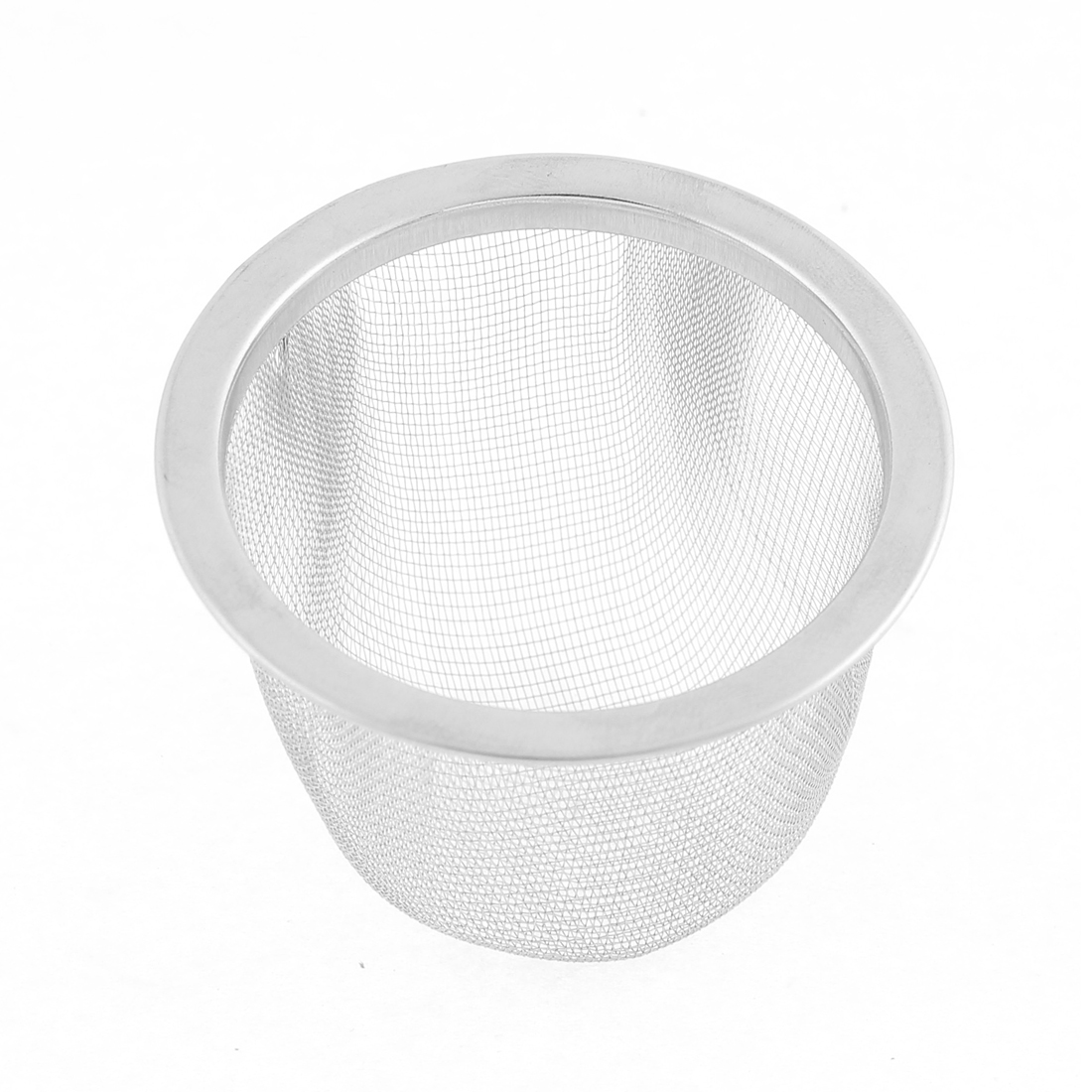 60mm Outer Dia Stainless Steel Mesh Tea Leaves Spice Strainer Basin Basket