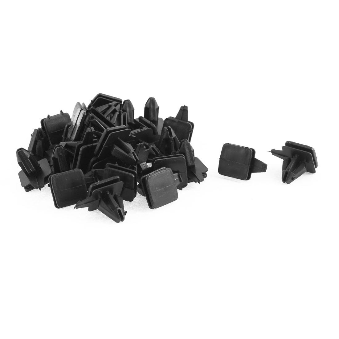 30 Pcs Black Plastic Door Trim Buckle Moulding Rivet for Buick