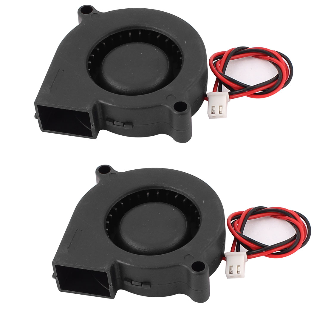DC 12V 0.12A 2P Sleeve Bearing Brushless Cooling Turbo Blower Fan Cooler 2pcs