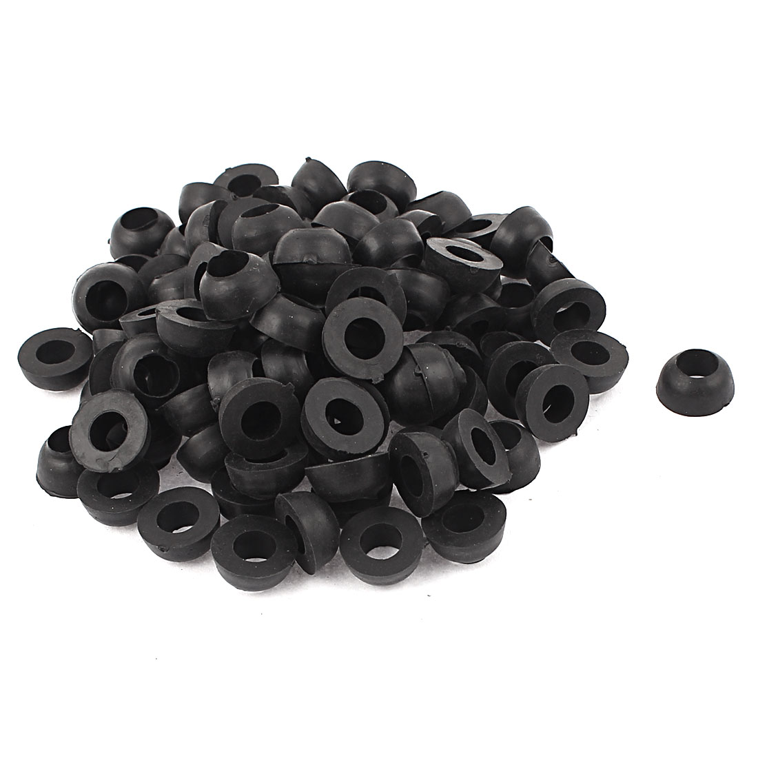 100pcs 18mm x 9mm x 7mm O Type Ring Seal Sealing Washer Gasket Grommet
