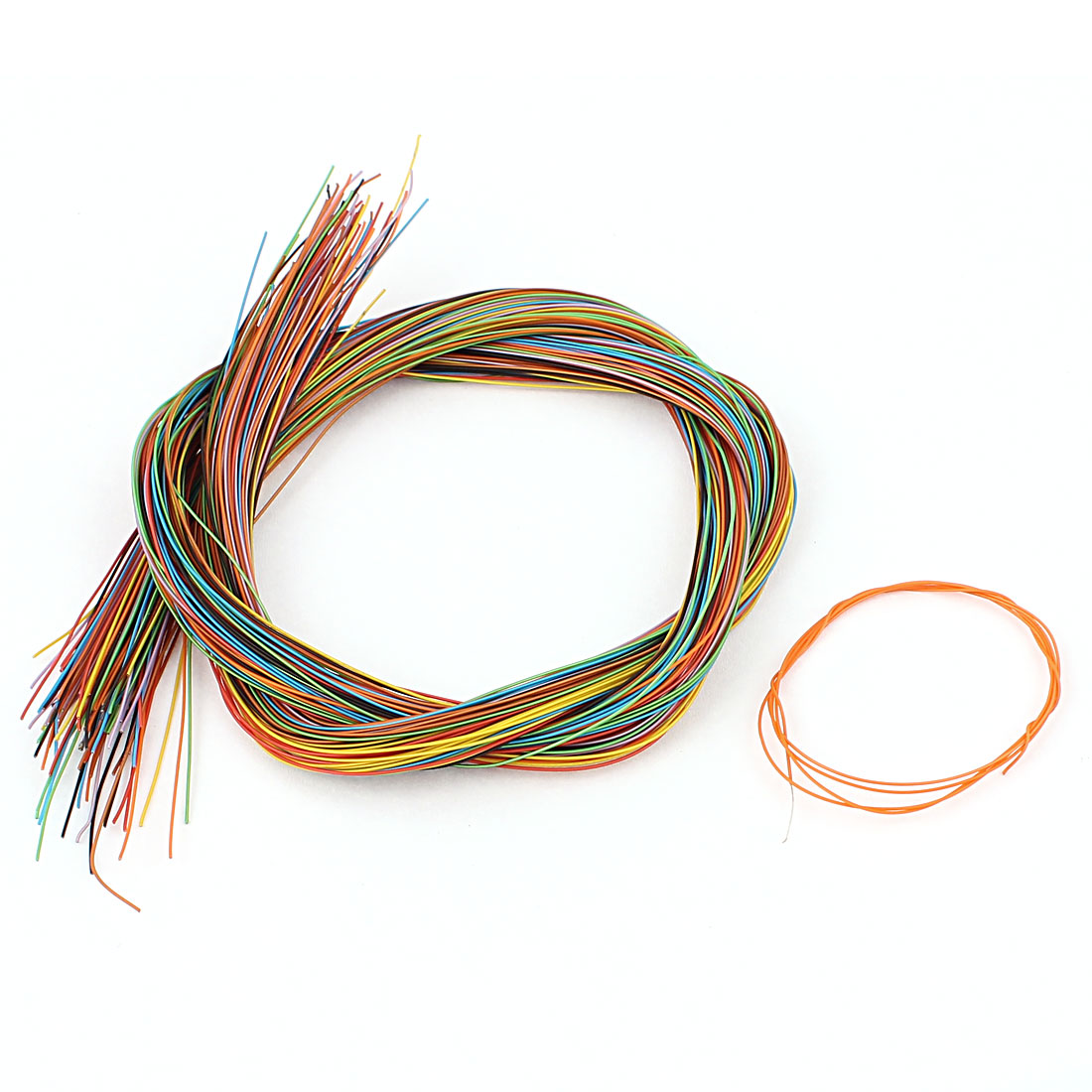 50cm 47G Female to Female Connector Jumper Wire Cable Test Line Multicolor