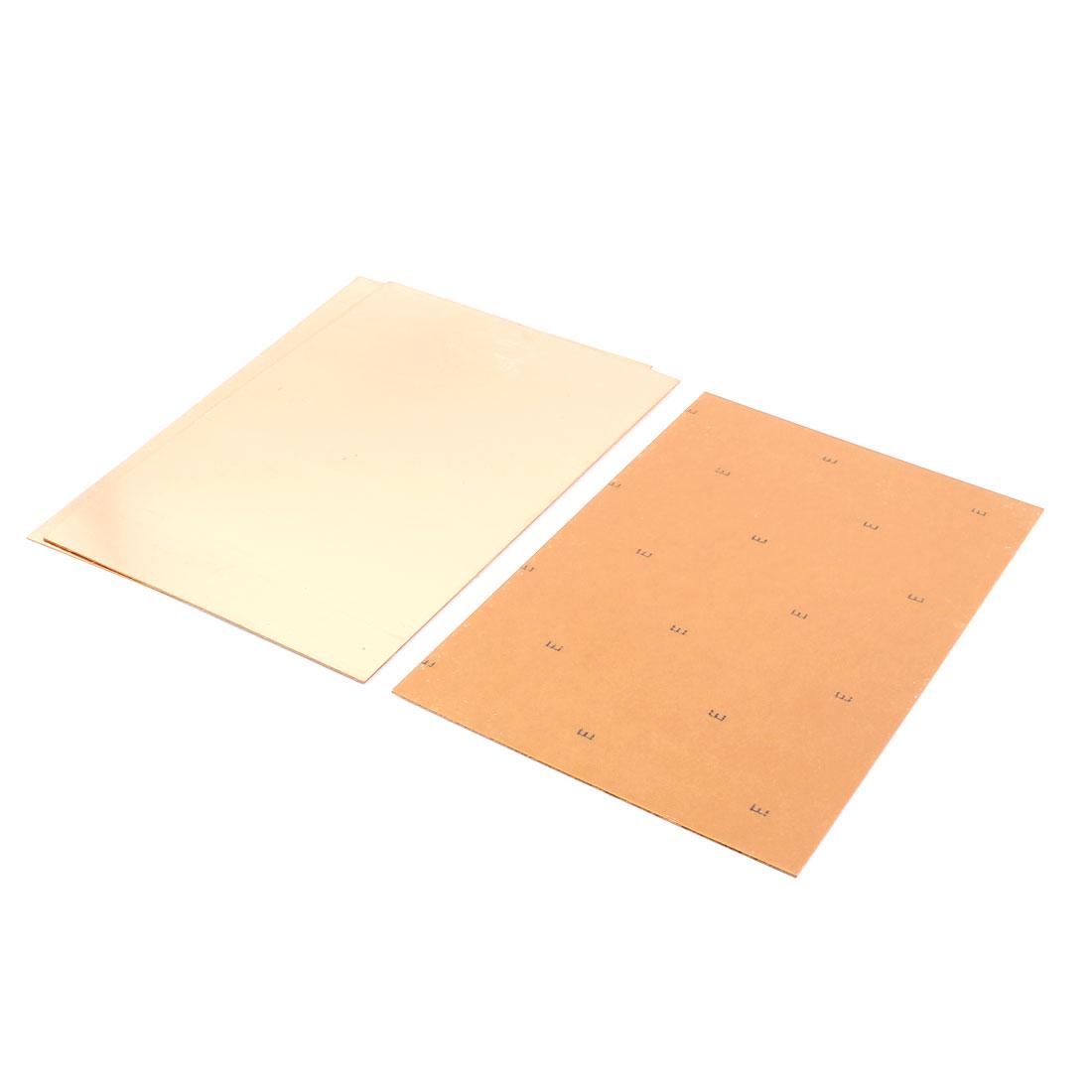 3pcs 20cm x 30cm Single Side Stable PCB Copper Clad Laminate Board FR4