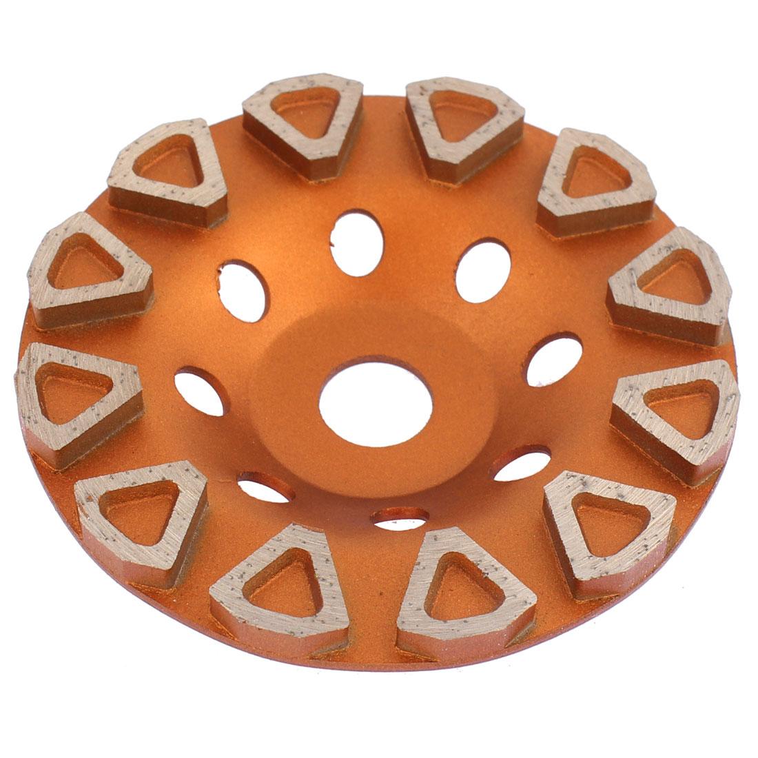 Diamond Cutting Disc 4 Inch Dia 7mm Thickness Saw Cutter Brass Tone