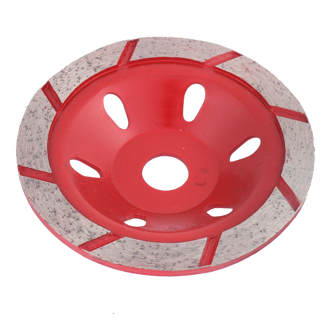 Diamond Cutting Disc 4 Inch Dia 5mm Thickness Saw Cutter Red Silver Tone