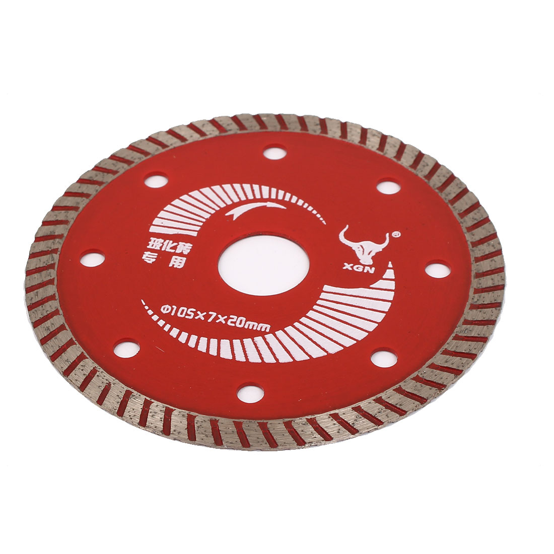 105mmx20mm Diamond Grinding Polishing Wheel Saw Cutter Red Dedicated for Vitrified Tiles